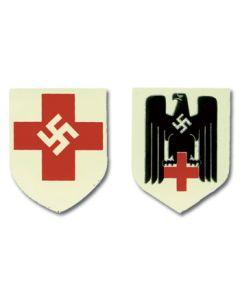 GERMAN RED CROSS HELMET DECALS