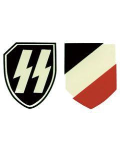 GERMAN SS-LAH HELMET DECALS
