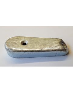 WWII GERMAN K98 98K RIFLE METAL CUPPED STOCK BUTT PLATE