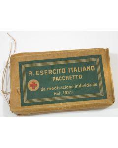 WW2 ORIGINAL ITALIAN ARMY FIRST AID BANDAGE MODEL 1931