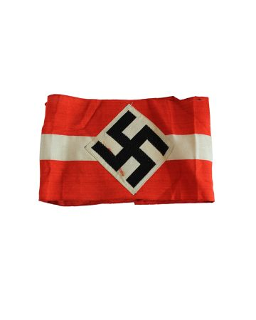 GERMAN  WWII HITLER YOUTH HJ COTTON ARMBAND -ORIGINAL