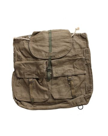 MILITARY CANVAS CZECH ARMY M60 RUCKSACK BAG SIMLAR BACK PACK OF DAK AFRIKA CORPS