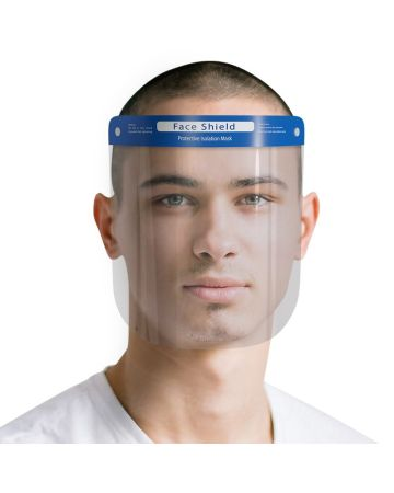 DISPOSABLE PLASTIC FACE SHIELD
