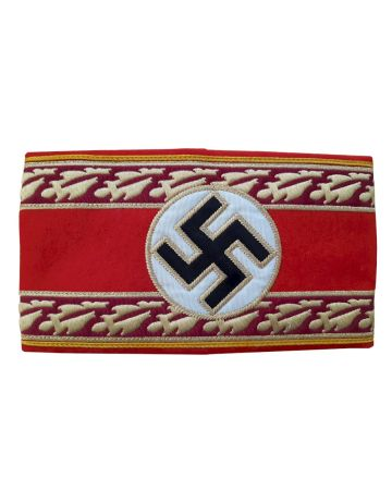 NAZI REICHSLEITER POLITICAL LEADER ARMBAND NATIONAL LEVEL