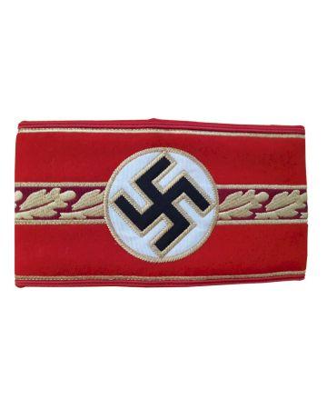 WW2 GERMAN GAULEITER POLITICAL LEADER ARMBAND