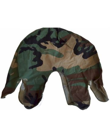 WWii US WOODLAND CAMOUFLAGE M1 HELMET COVER NEW