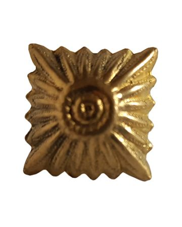 WWII GERMAN GOLD 15MM RANK PIPS LARGE