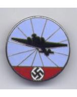 GERMAN LUFTWAFFE AIRCRAFT WARNING SERVICE BADGE REICHSLUFTSCHUTZ
