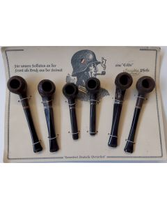 GERMAN WWII WEHRMACHT HEER SMOKING PIPE SET