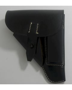 GERMAN HOLSTER FOR WALTHER PPK BLACK LEATHER