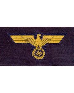 GERMAN NAVY ENLISTED MAN BEVO HAT EAGLE