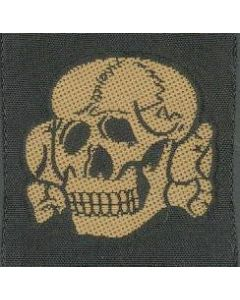 GERMAN SS CAP SKULL CAMOUFLAGE FALL