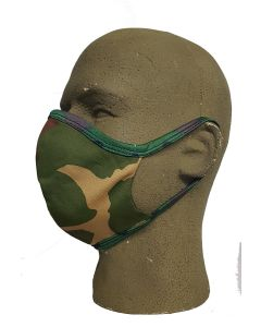 FACE MASK WASHABLE CAMO MATERIAL