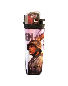 GERMAN WAFFEN SS LIGHTER TALL