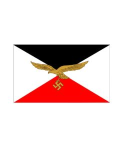 GERMAN NAZI  FLAG OF COMMANDING GENERALS OF THE AIR FORCE FLAG