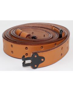 AMERICAN 1907 PATTERN LEATHER RIFLE SLING