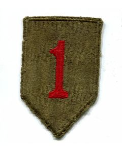 AMERICAN 1ST INFANTRY DIVISION PATCH THE BIG RED ONE