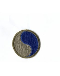 AMERICAN 29th INFANTRY DIVISION PATCH - ORIGINAL