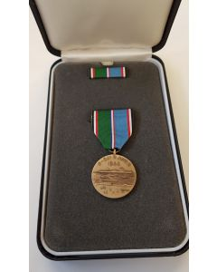 AMERICAN D-DAY COMMEMORATIVE MEDAL WITH PRESENTATION CASE