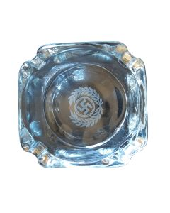 GERMAN WW2 GLASS ASHTRAY