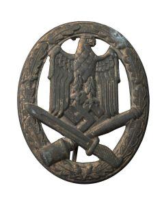 GERMAN WWII GENERAL ASSAULT BADGE, HOLLOW BACK (ALLGEMEINES STURMABZEICHEN)
