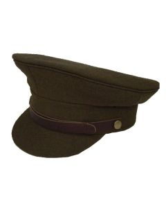 BRITISH WW11 ARMY OFFICER PEAKED CAP
