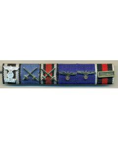 GERMAN WW11 6 RIBBON BAR