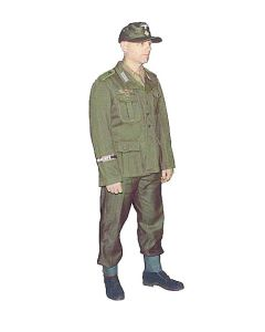 GERMAN BASIC WWII SOLDIER SET uniform