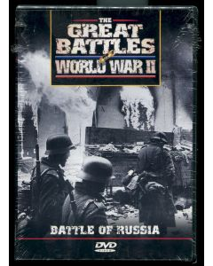 THE GREAT BATTLES OF WORLD WAR II - BATTLE OF RUSSIA DVD