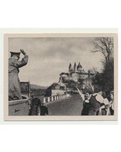 BEGRUTZUNG DES FUHRERS BEIDER EINFAHRT IN A. D. DONAU ( MARZ 1938)