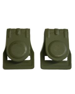 WW11 GERMAN BELT HOOKS FOR GAS MASK STRAP