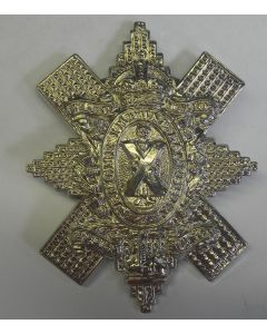 BRITISH WW2 Blackwatch cap badge