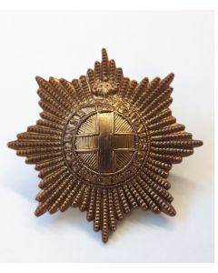 BRITISH COLDSTREAM GUARD CAP BADGE
