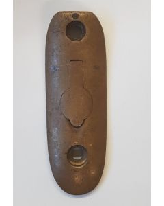 BRITISH LEE ENFIELD No4 BRASS BUTTPLATE
