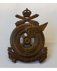 CANADIAN 2ND ARMOURED CAR REGIMENT CAP BADGE