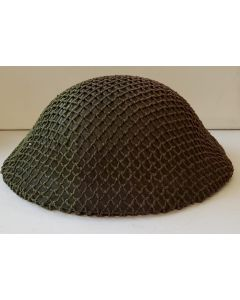 CANADIAN WWII 2 TONE COLOR HELMET NET