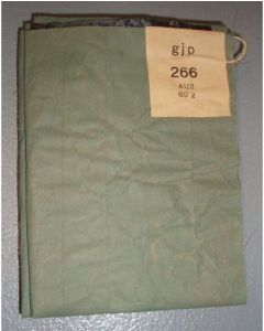 GERMAN GAS MASK CAPE - WWII
