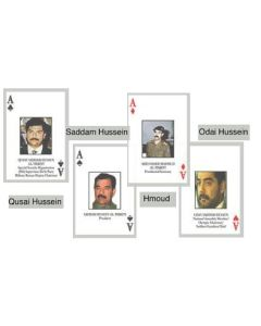 IRAQI MOST WANTED DECK OF CARDS