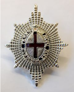 COLDSTREAM GUARDS OFFICER CAP BADGE