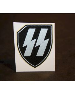 GERMAN HELMET DECAL SS LEIBSTANDARTE