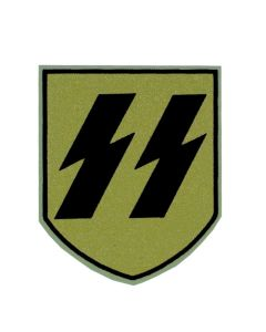 ww11 GERMAN HELMET DECAL SS EARLY