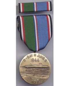 ww11 AMERICAN D-DAY COMMEMORATIVE MEDAL