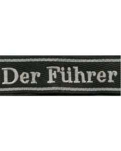 DER FUHRER 4.SS REGIMENT OF 2.SS DIVISION CUFF TITLE