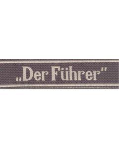 DER FUHRER BEVO TYPE CUFF TITLE
