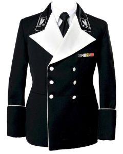 GERMAN GENERAL MESS DRESS TUNIC BLACK