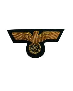 GERMAN WW2 GENERAL'S GOLD EMBRODIERD VISOR CAP EAGLE