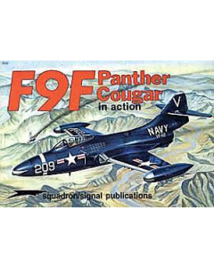 F9F PANTHER/COUGAR In Action Squadron/Signal Publication Aircraft No. 51