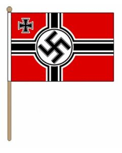 GERMAN WWII HAND FLAG