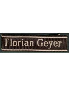 FLORIAN GEYER BEVO TYPE CUFF TITLE