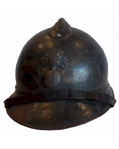 WWI FRENCH M15 ADRIAN STEEL HELMET MODEL 1915 INFANTRY